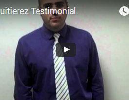 Dr. Guitierez's Testimonial
