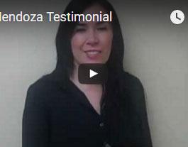 Dr. Mendoza's Testimonial