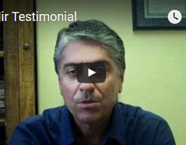 Dr. Mir's Testimonial