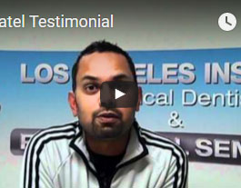 Dr. Patel's Testimonial
