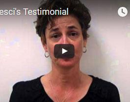 Dr. Pesci's Testimonial
